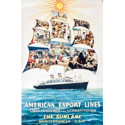 AMERICAN EXPORT LINES. S/S INDEPENDENCE AND S/S CONSTITUTION