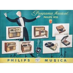 PHILIPS MUSICA. PROGRAMA MUSICAL 1953