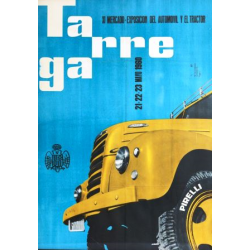 XI MERCADO DEL AUTOMOVIL Y EL TRACTOR 1960. TARREGA