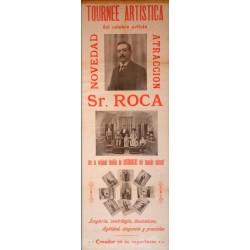 TOURNEE ARTISTICA DEL CELEBRE ARTISTA SR. ROCA
