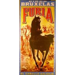 CIRCO BRUXELAS. FURIA EL CABALLO SALVAJE