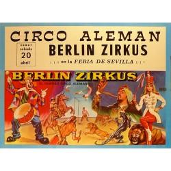 BERLIN ZIRKUS ¡¡¡EN LA FERIA DE SEVILLA!!! 1967