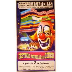 FESTIVAL MUNDIAL DEL CIRCO TEMPORADA 1976
