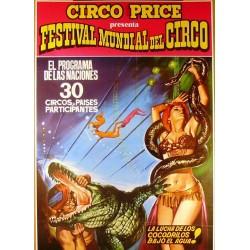 CIRCO PRICE GRAN FESTIVAL MUNDIAL DEL CIRCO. GRANADA 1974
