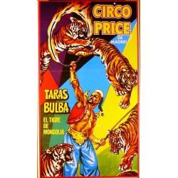 CIRCO PRICE. TARAS BULBA. OVIEDO 1972