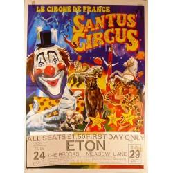 SANTUS CIRCUS. LE CIRQUE DE FRANCE