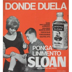DONDE DUELA PONGA LINIMENTO SLOAN