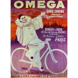 CYCLES OMEGA SANS CHAINE