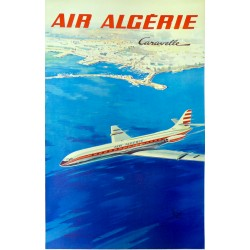 AIR ALGERIE. CARAVELLE...