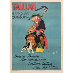 TAILLAN GRAND VIN DE QUINQUINA. BANYULS...