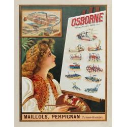 OSBORNE. MAILLOLS PERPIGNAN...