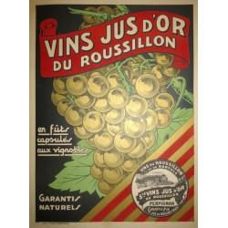 VINS JUS d'OR DU ROUSSILLON...