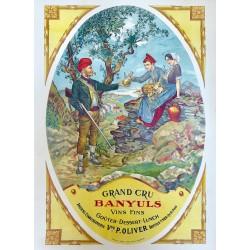 GRAND CRU BANYULS P. OLIVER...