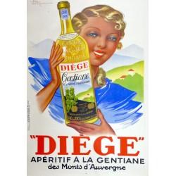 DIEGE APERITIF A LA GENTIANE...