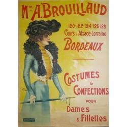 BROUILLAU, COSTUMES ET CONFECTIONS...