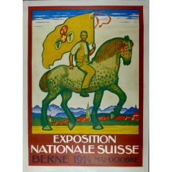 EXPOSITION NATIONAL SUISSE 1914...