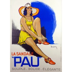 LA SANDALE PAU. SOUPLE. SOLIDE. ELEGANTE...