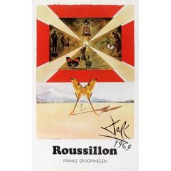 ROUSSILLON FRANCE SPOORWEGEN. DALI 1969...