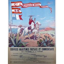 CIE. NAVIGATION MIXTE TOUACHE ALGERIE TUNISIE....