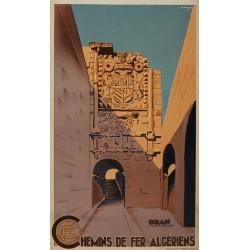 ORAN CHEMINS DE FER ALGERIENS...