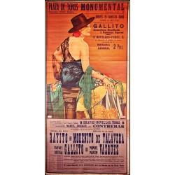 PLAZA TOROS MONUMENTAL 15 AGOSTO 1940