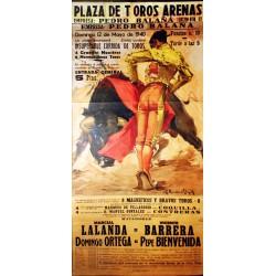 PLAZA TOROS ARENAS 1940