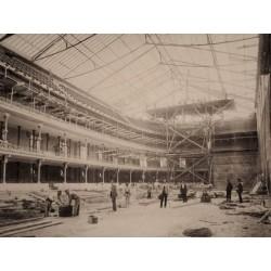 4 FOTOGRAFÍAS ALBUMINAS DEL FRONTÓN CONDAL DE BARCELONA.1893/94