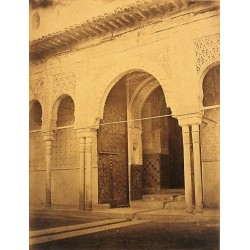GRANADA, ALHAMBRA. PATIO DE LOS LEONES. CHARLES MAUZAISSE