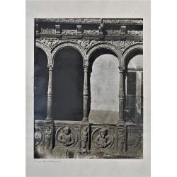 ZARAGOZA, PATIO DE LA CASA DE LOS INFANTES. CHARLES CLIFFORD 1860