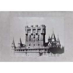 SEGOVIA. ALCAZAR Y TORRE DE JUAN II. CHARLES CLIFFORD.1853