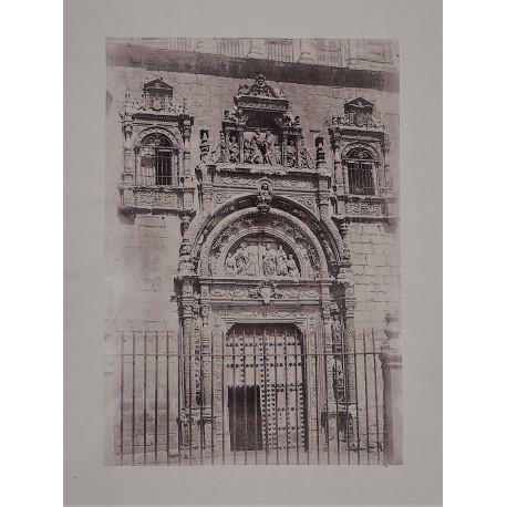 TOLEDO. PUERTA DEL HOSPITAL SANTA CRUZ. CHARLES CLIFFORD 1858