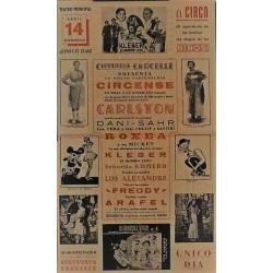 EIBAR. 26/04/1940. CIRCO CARCELLE-CARLSTON
