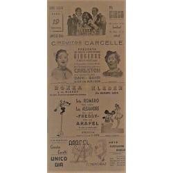 ESTELLA (NAVARRA) 19/04/1940. CIRCO CARCELLE-CARLSTON