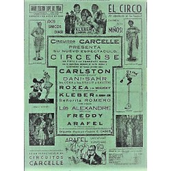 VALLADOLID 4/05/1940. CIRCO CARCELLE-CARLSTON