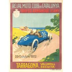 REIAL MOTO CLUB DE CATALUNYA. TARRAGONA 1922