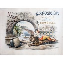 SAN JOSE DE COSTA RICA. EXPOSICIÓN PRODUCTOS ESPAÑOLES
