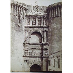 NAPOLI. PORTA DI ALFONSO D'ARAGONE. BEHLES, Edmond