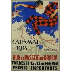 CARNAVAL 1934. BARCELONA
