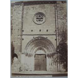 ,ZAMORA, PUERTA PRINCIPAL DE LA IGLESIA DE LA MAGDALENA. LAURENT, Phot.