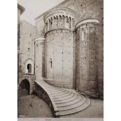 ANAGNI (ITALIA). CATTEDRALE. L'ABSIDE (SECOLO XI)