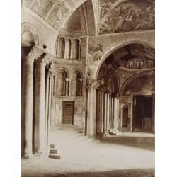 VENEZIA, Basilica di San MArcoo. ALINARI Phot.