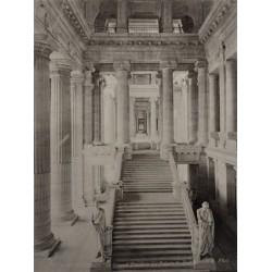 BRUXELLES, Le Grand Escalier du Palais de Justice. N.D. Phot.
