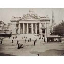 BRUXELLES, La Bourse. N.D. Phot.