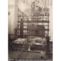 GRANADA, Capilla Real. Berja y Sepulcro de los Reyes Católicos. CAMINO Phot.