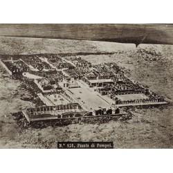 NAPOLI, Pianta di Pompei