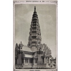 PARIS, Exp. Universelle de 1889. Pagode d'Angkor. N.D. Phot.