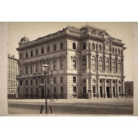 WIEN, Palacio del Arcohiduque Luis Victor (hermano del Emperedor). KRAMER Oskar Phot.