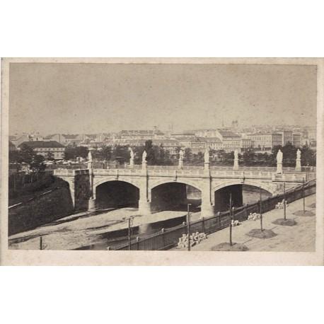 WIEN, Puente de Elisabeth). KRAMER Oskar Phot.