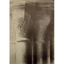 POBLET (TARRAGONA), Capiteles de la Tesoreria