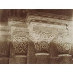 POBLET (TARRAGONA), Detalle de Capiteles